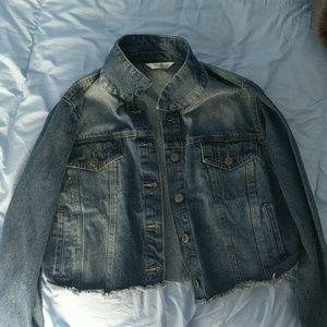 never worn jean jacket